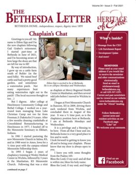 Bethesda Fall Newsletter 2021
