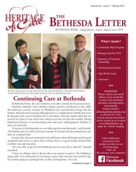 Bethesda Home - Spring 2019 Newsletter